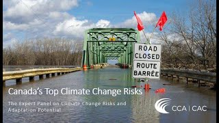 CRCTI CoP/CCRF Webinar: Canada's Top Climate Change risks (August 28, 2019)