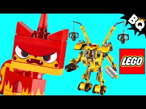 Vidéo LEGO The LEGO Movie 70814 : Le Construct-o-Mech d'Emmet