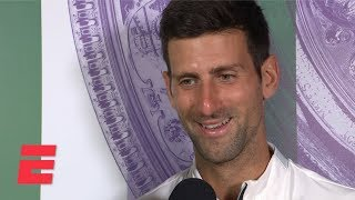 Novak Djokovic On Dramatic Win Vs Roger Federer: 'This Match I'll Remember Forever' | 2019 Wimbledon