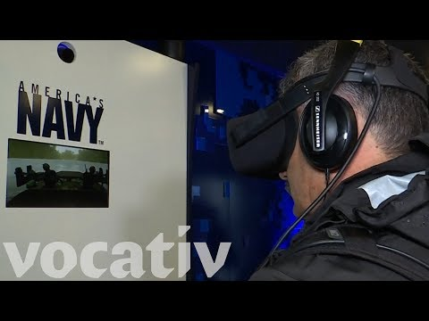 The U.S. Navy Is Recruiting With VR