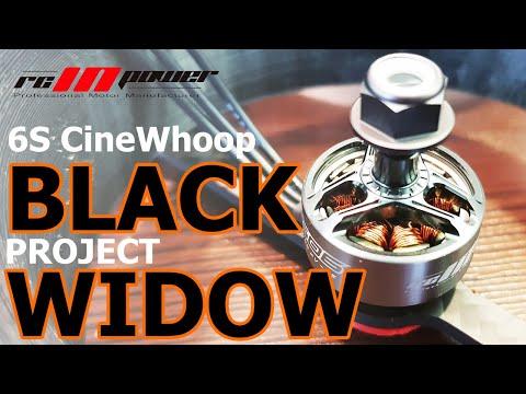 BLACK WIDOW 6S CineWhoop   Установка моторов RCINPower GTS-V2 1506 3000KV