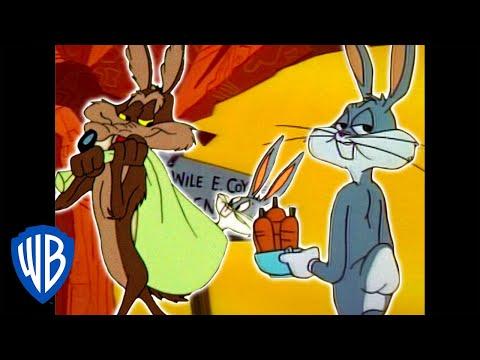 Looney Tunes   Wile E. Coyote Genius vs. Bugs Bunny   Classic Cartoon Compilation   WB Kids