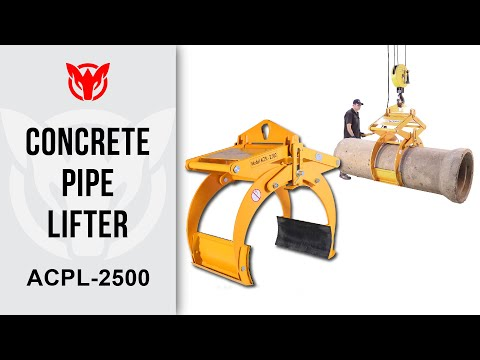 Concrete Pipe Lifter 2500