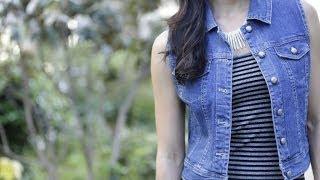 Celeb Look We Love: Denim Vest & Maxi