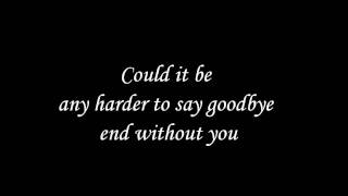 Could it be any harder- The Calling Lyrics