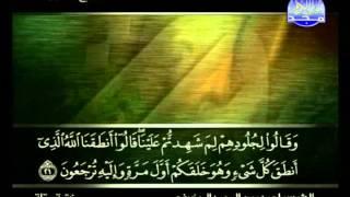 المصحف الكامل  24 للمقرئ علي بن عبد الرحمن الحذيفي