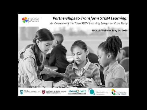May 2019 Webinar: How Do STEM Ecosystems Form & Thrive?