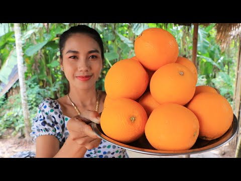 How to cook orang jelly recipe in my village