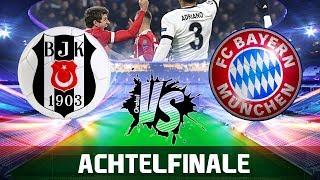 BESIKTAS ISTANBUL vs FC BAYERN 1:3 | Champions League Orakel Achtelfinale
