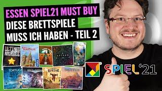 SPIEL21 Must Buy Liste Teil 2 | 20 weitere Spiele, auf die ich mich freue