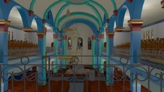 preview picture of video 'Visualisation 3D de la Cathédrale de Saint-Pierre et Miquelon...'