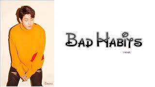 1 Hour ✗ Shaun (숀) - Bad Habits (습관) ✗ Color Coded Lyrics