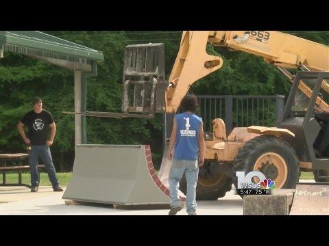 Upgrades to Danville's skate park begin