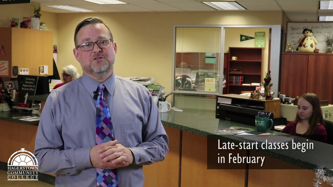 Hagerstown community college click to watch late start video fandeluxe Image collections