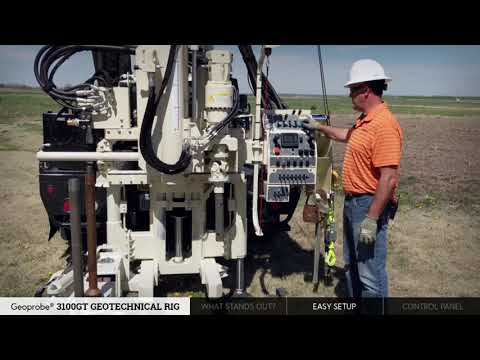 3100GT Geotechnical Drill Rig | Geoprobe Systems®