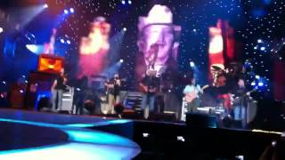 "Zac Brown Band with Alan Jackson  ""As She's Walking Away"""