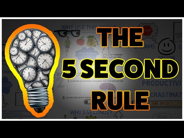 Change Your Life in 5 seconds | 5 second rule by Mel Robbins |Book Review
