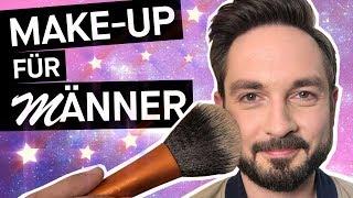 Make-Up für Männer: Jungs, warum schminkt ihr euch nicht? + Aquamarin || PULS Reportage
