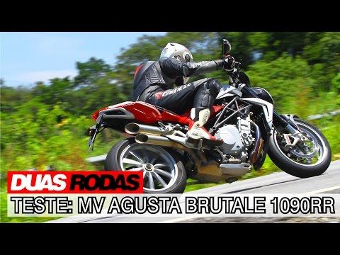 Duas Rodas Testando Limites: MV Agusta Brutale 1090 RR ABS