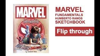 MARVEL Fundamental HUMBERTO RAMOS Sketchbook Flip Through Spider-Man