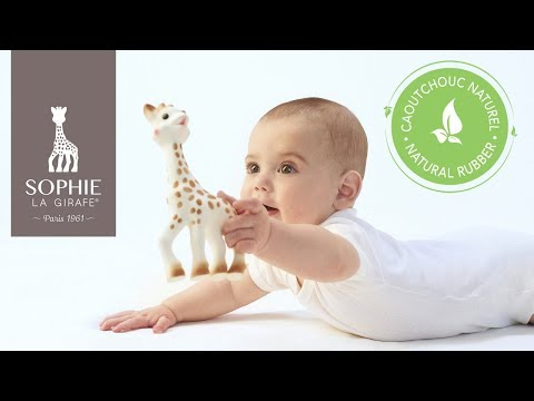 Sophie the Giraffe baby teether toy