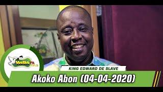 AKOKO ABON ON HELLO101.5FM WITH KING EDWARD DE SLAVE (04/03/2020)