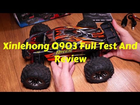 Xinlehong Q903 1/16 4WD 52/kmh Brushless Buggy Full Review