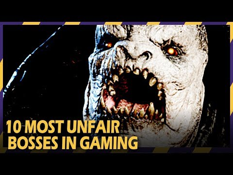 10 most unfair bosses in gaming