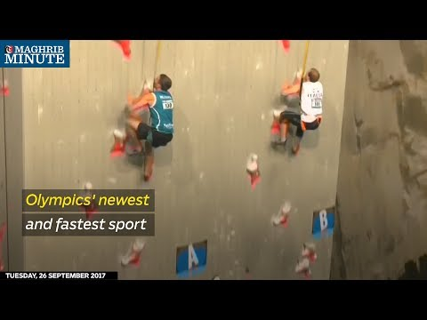 With a winning time of under 7 seconds, speed climbing can claim to be the Olympic Games' fastest sport.