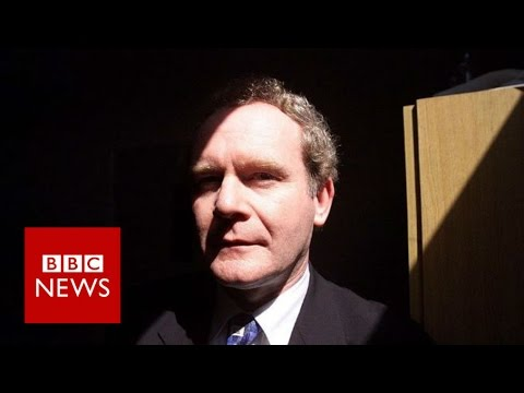 Martin McGuinness will not stand in election - BBC News