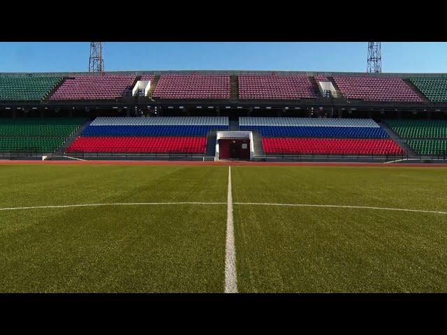 Ремонт стадиона Ангара закончится в следующем году