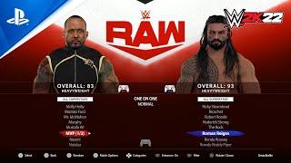 WWE 2K22 Roster: Every Superstar & Legend Model Previewed, Plus Main Menu! (PlayStation 5 Concept)