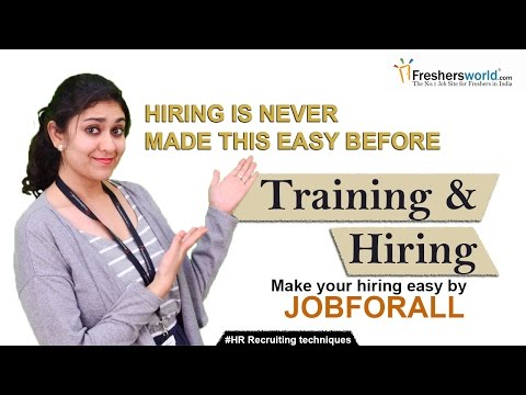 How to hire and provide training to an Employee? II HR Recruiting ...