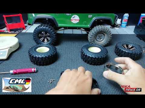 FASTRAX Beadlock Felgen - Die Montage der Reifen auf die Felgen beim FTX Outback 2 Ranger