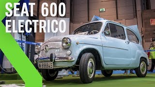 Así es el SEAT 600 adaptado a coche eléctrico 100% (¡Aunque no es oficial de Seat!)