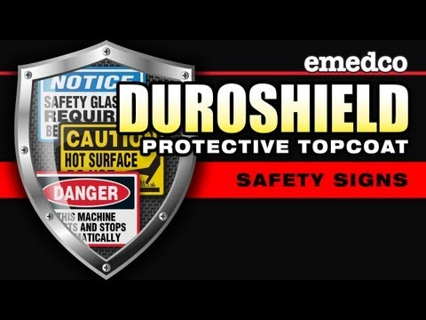 Duroshield Topcoat for Safety Signs