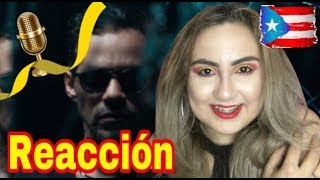Marc Anthony - Lo Que Te Di /Reacción