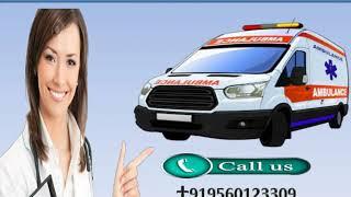 High Class Life Saver Road Ambulance Service in Rajendra Nagar
