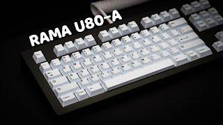 RAMA U80-A Typing Demo | Lubed H1 w/ TT MP 68g |