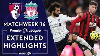 Bournemouth v. Liverpool | PREMIER LEAGUE HIGHLIGHTS | 12/07/19 | NBC Sports