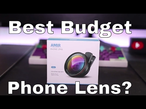 Amir Wide Angle Clip-On Phone Lens Review – Best Budget Mobile Lens?