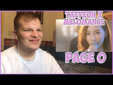 TAEYEON X MeloMance - Page 0 MV Reaction