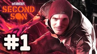InFamous: Second Son - Gameplay - Part 1 - Walkthrough / Playthrough / Lets Play
