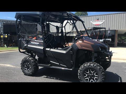 2021 Honda Pioneer 700-4 Deluxe in Greenville, North Carolina - Video 1