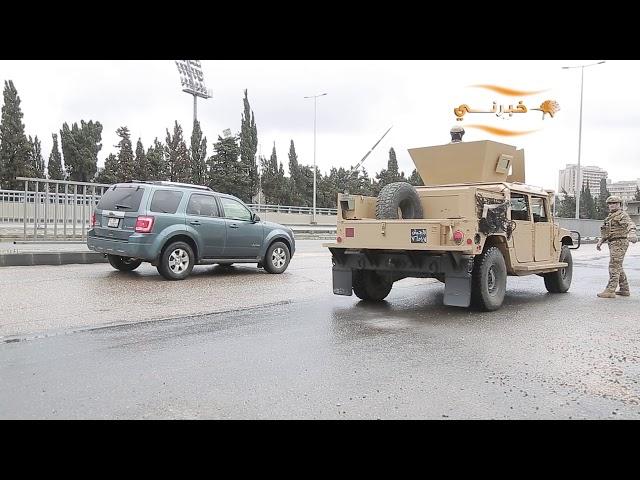حظر تجول في شوارع عمان و اغلاق الطرق