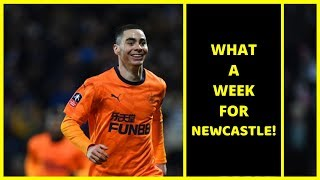Live   Talking about a fantastic week for NUFC with away wins over West Brom & Southampton