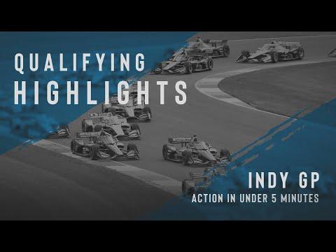 インディーカー第5戦インディカー・インディアナポリス 予選ハイライト動画