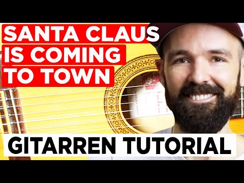 Gitarren lernen – Santa Claus is coming to town