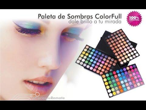 Juego De Sombras Ojos Paleta 180 Colores Cosméticos New ...