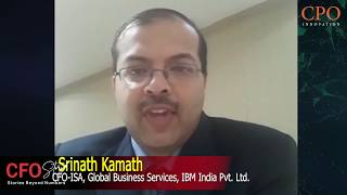 Srinath Kamath, CFO- ISA Global Business Services - IBM on The CFO Story Forum